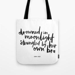Drowned In Moonlight Tote Bag