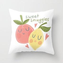 Spring Garden Baby Throw Pillow