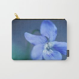 Blue and Green Carry-All Pouch