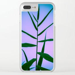 Reach to the Sky at Sunset 4 Clear iPhone Case