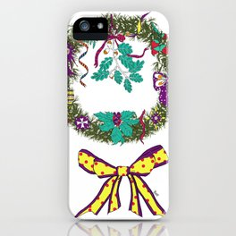 Christmas Crown I iPhone Case