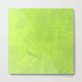 Abstract green paper Metal Print