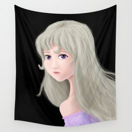 Lady Amalthea (rendition) Wall Tapestry
