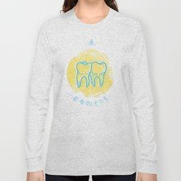 Gemini - Teeth Zodiac Long Sleeve T-shirt