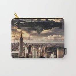 The alien ship over the New York Carry-All Pouch