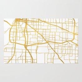 MEMPHIS TENNESSEE CITY STREET MAP ART Rug