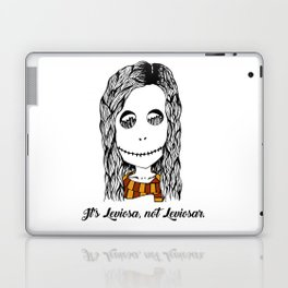 Hermione Granger Skull Leviosa Laptop & iPad Skin