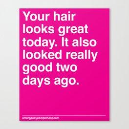 Your Hair Canvas Print