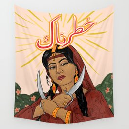 Khatarnaak Wall Tapestry