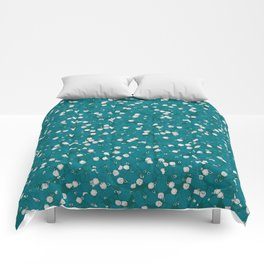 Hangin' With The Guys RETRO BLUE / Toy figurines cartoon pattern Comforters