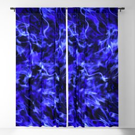 Electric blue Blackout Curtain