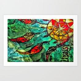 Dreamcatcher2 Art Print