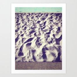 Midnight Sand  Art Print