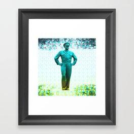 general, Eisenhower Framed Art Print