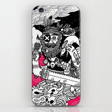 The Taxidermist iPhone Skin
