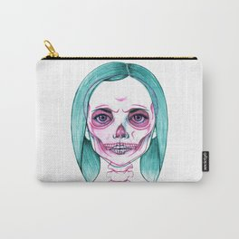 X-Ray Girl Carry-All Pouch