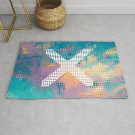 X Marks The Spot Rug