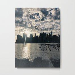 brooklyn views of nyc Metal Print