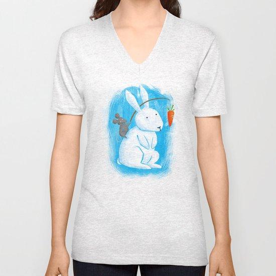 Bunny Rider Unisex V-Neck