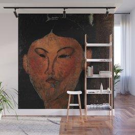 "Amedeo Modigliani ""Beatrice Hastings"" (1915) Wall Mural"