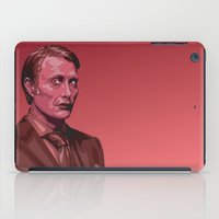 hannibal iPad Cases featuring Hannibal by Digital Sketch