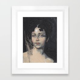 Cuts Framed Art Print