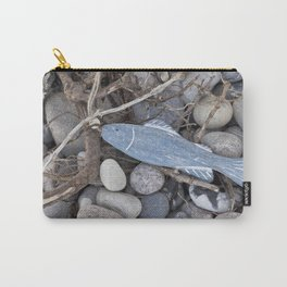 Little Fisch At The Beach Carry-All Pouch