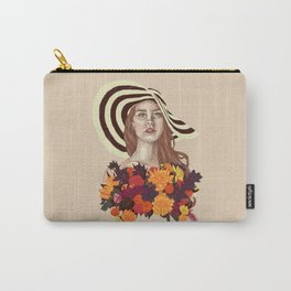 A flower between flowers // Del Rey with a bouquet Carry-All Pouch