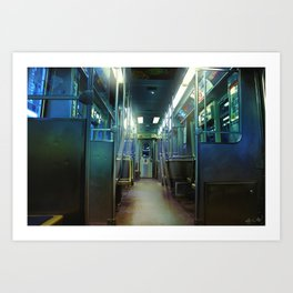 Ghost Train Art Print