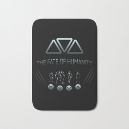 The Fate of Humanity Bath Mat
