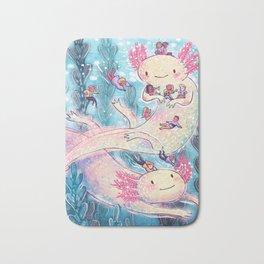 Axolotl Party Bath Mat