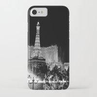las vegas iPhone & iPod Cases featuring Las Vegas by Sara Sue Ess