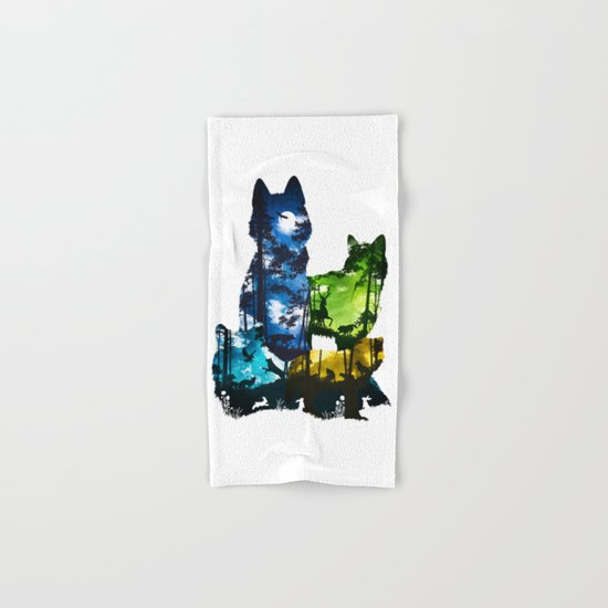 Wolf Pack Hand & Bath Towel