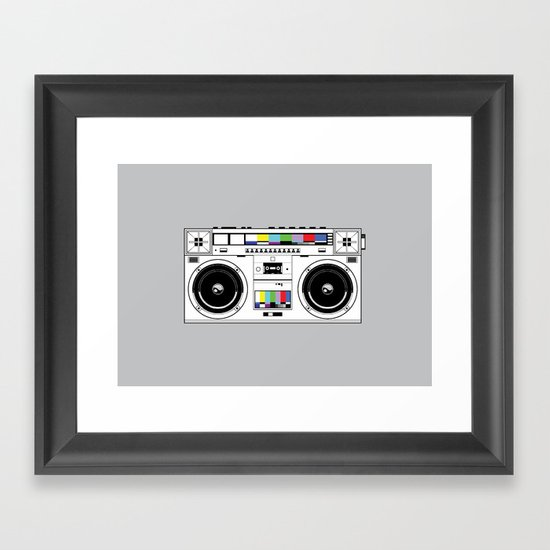 1 kHz #7 Framed Art Print