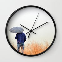 watch Wall Clocks featuring Watch by Mario Metzler