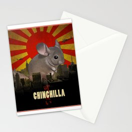 Chinchilla Kaiju Stationery Cards