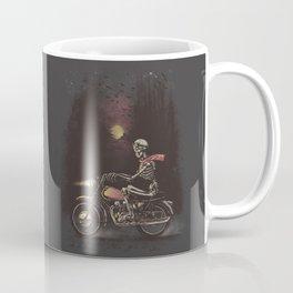 Death Rides in the Night Coffee Mug