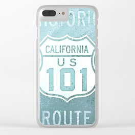 Route 101 Clear iPhone Case