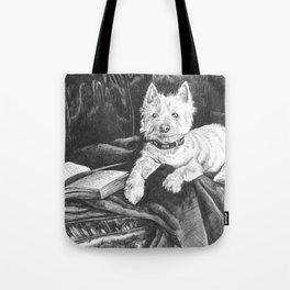 Literary Hound Tote Bag