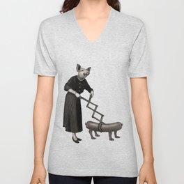 Anthropomorphic N°17 Unisex V-Neck