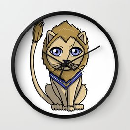 Cute Ally Lion Wall Clock