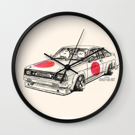 Crazy Car Art 0180 Wall Clock