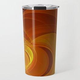 Warmth, Fractal Art Abstract Travel Mug