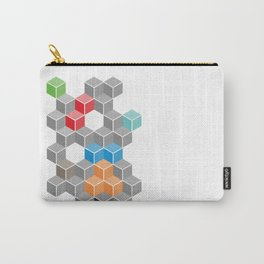 Isometric confusion Carry-All Pouch