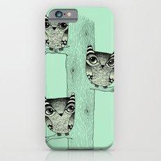 Owls (green) Slim Case iPhone 6s
