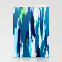 ikat Stationery Cards featuring Ikat by kristinesarleyart