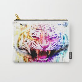 Angry tiger 01 Carry-All Pouch