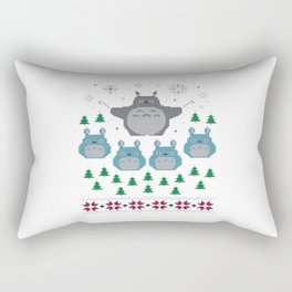 totorro christmas Rectangular Pillow