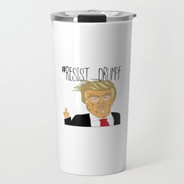 #Resist Drumpf Travel Mug