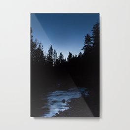 Emigrant Wilderness Blue Hour Metal Print